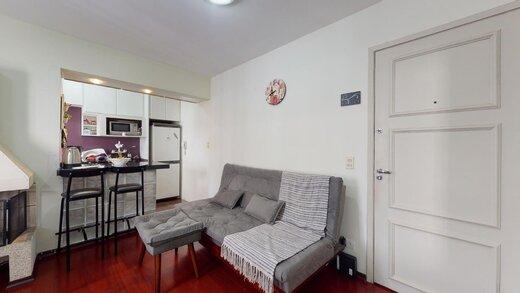 Living - Apartamento à venda Rua Estado de Israel,Vila Clementino, Zona Sul,São Paulo - R$ 609.233 - II-21215-35251 - 17