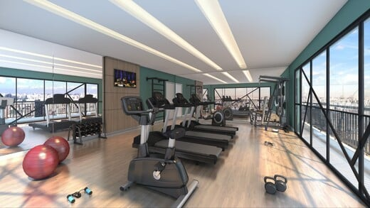 Fitness - Fachada - NewTown SP - 1172 - 4