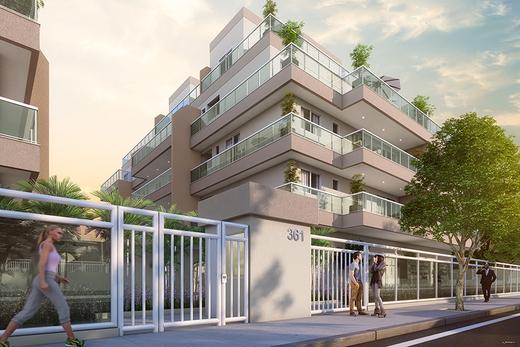 Portaria - Cobertura 3 quartos à venda Rio de Janeiro,RJ - R$ 1.195.000 - II-21316-35403 - 3
