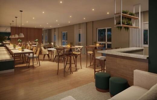 Salao de festas - Fachada - Rio Wonder Residences Praia Formosa - Fase 2 - Breve Lançamento - 351 - 5