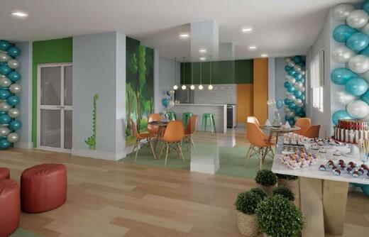 Salao de festas - Fachada - Rio Wonder Residences Praia Formosa - Fase 2 - Breve Lançamento - 351 - 6