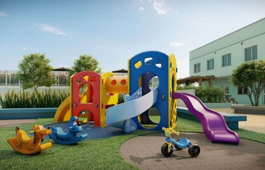 Playground - Fachada - Rio Wonder Residences Praia Formosa - Fase 2 - Breve Lançamento - 351 - 16