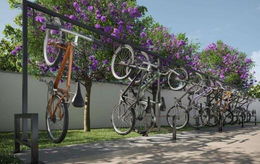 Bicicletario - Fachada - Rio Wonder Residences Praia Formosa - Fase 2 - Breve Lançamento - 351 - 18