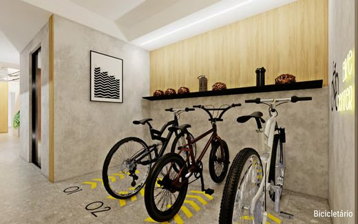 Bicicletario - Fachada - Pratik - 361 - 7