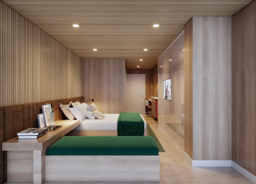 Dormitorio - Studio à venda Rua Doutor Nicolau de Sousa Queirós,Vila Mariana, São Paulo - R$ 344.022 - II-21697-36070 - 5