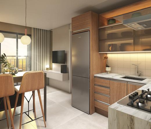 Cozinha - Studio à venda Rua Heitor Penteado,Perdizes, São Paulo - R$ 34.000 - II-21841-36273 - 3