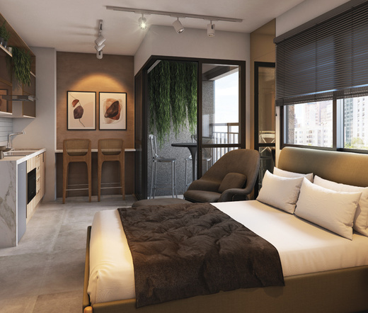Dormitorio - Studio à venda Rua Heitor Penteado,Perdizes, São Paulo - R$ 34.000 - II-21841-36273 - 5