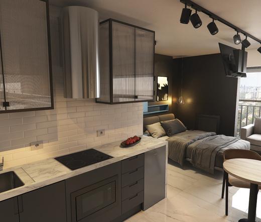 Cozinha - Studio à venda Rua Heitor Penteado,Perdizes, São Paulo - R$ 34.000 - II-21841-36273 - 4