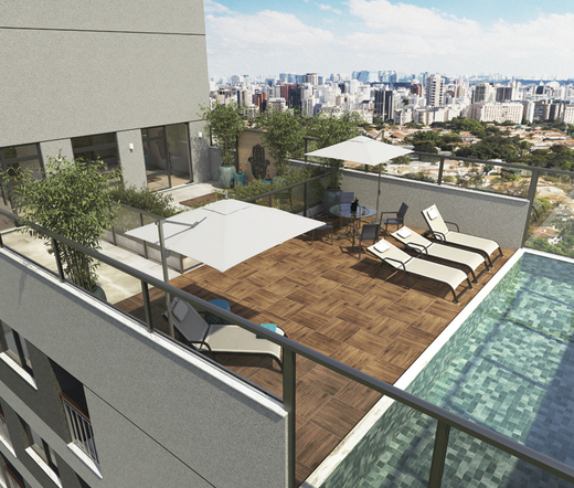 Piscina - Studio à venda Rua Heitor Penteado,Perdizes, São Paulo - R$ 34.000 - II-21841-36273 - 14