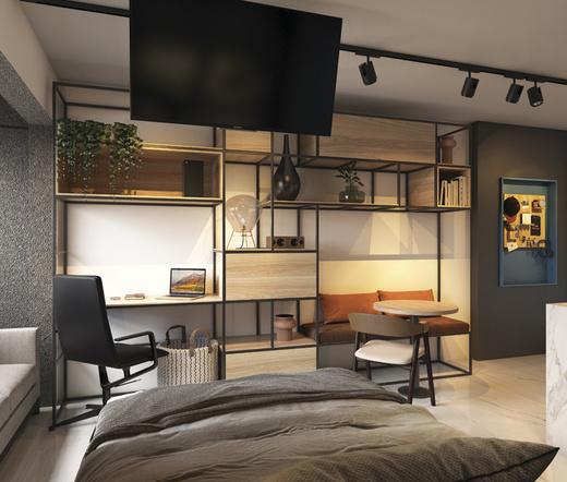 Dormitorio - Studio à venda Rua Heitor Penteado,Perdizes, São Paulo - R$ 34.000 - II-21841-36273 - 6