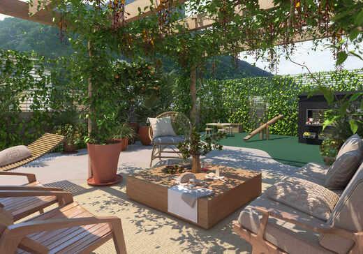 Lounge privativo - Fachada - Serena - 137 - 13