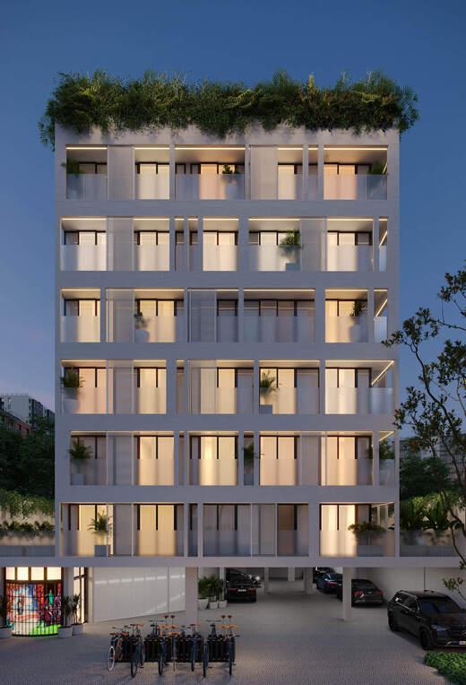 Fachada - Apartamento 1 quarto à venda Rio de Janeiro,RJ - R$ 691.579 - II-22196-36836 - 3