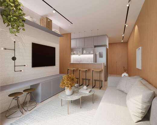 Living - Apartamento 1 quarto à venda Rio de Janeiro,RJ - R$ 691.579 - II-22196-36836 - 7