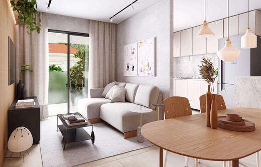 Living - Apartamento 1 quarto à venda Rio de Janeiro,RJ - R$ 691.579 - II-22196-36836 - 8