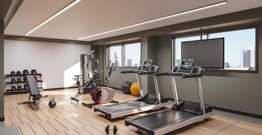 Fitness - Loft à venda Rua Princesa Isabel,Santo Amaro, Zona Sul,São Paulo - R$ 361.280 - II-22326-37011 - 4