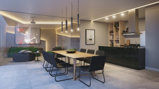 Espaco gourmet - Fachada - Playa Exclusive Residences - 141 - 10