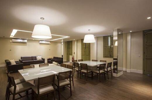 Salao de festas - Fachada - Atrium Residences & Lofts - 434 - 5