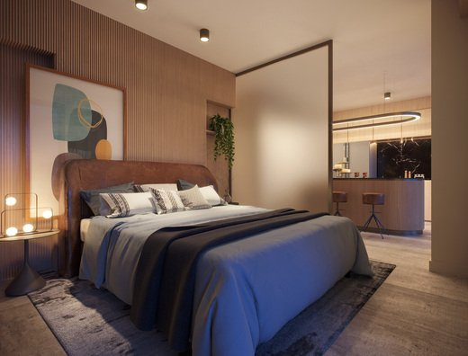 Dormitorio - Fachada - On The Sea Arpoador - 436 - 12