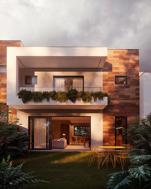 Jardim privativo - Fachada - Essenza Design Houses - 147 - 8