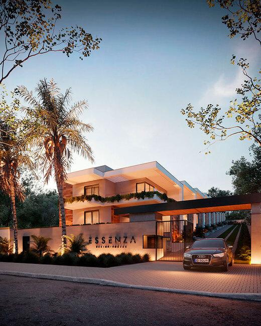 Portaria - Fachada - Essenza Design Houses - 147 - 1