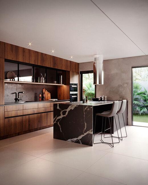 Cozinha - Fachada - Essenza Design Houses - 147 - 5