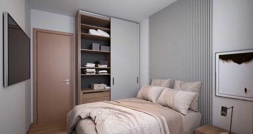 Dormitorio - Fachada - Residencial Pedra de Guaratiba - Fase 1 - 379 - 7