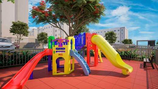 Playground - Fachada - Residencial Pedra de Guaratiba - Fase 1 - 379 - 12