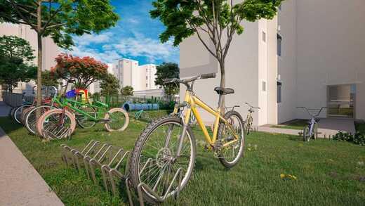 Bicicletario - Fachada - Residencial Pedra de Guaratiba - Fase 1 - 379 - 14