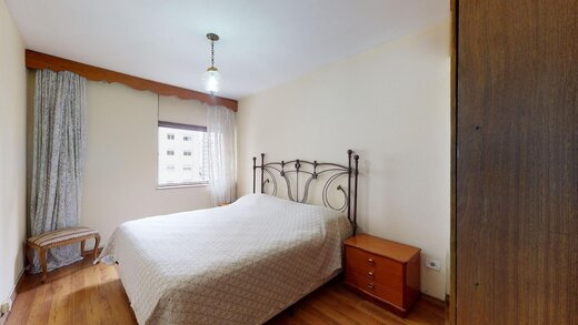 Quarto principal - Apartamento à venda Rua Mourato Coelho,Vila Madalena, Zona Oeste,São Paulo - R$ 1.185.000 - II-22650-37492 - 1