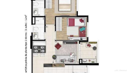 Apartamento à venda Rua Doutor Rubens Meireles,Várzea da Barra Funda, Zona Oeste,São Paulo - R$ 699.500 - II-22684-37528 - 22