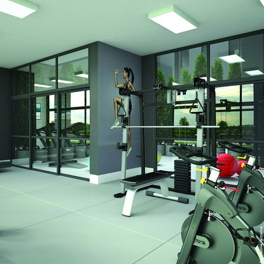Fitness - Fachada - Wings Residence - 152 - 6