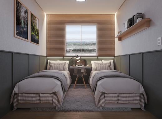 Dormitorio - Fachada - Flores do Brito - Fase 1 - 1766 - 9