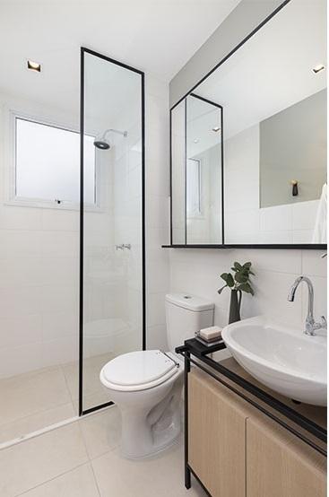 Banheiro - Fachada - Novolar Vargem Grande - Fase 2 - 1765 - 14