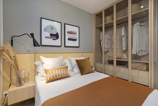 Dormitorio - Fachada - Novolar Vargem Grande - Fase 2 - 1765 - 11