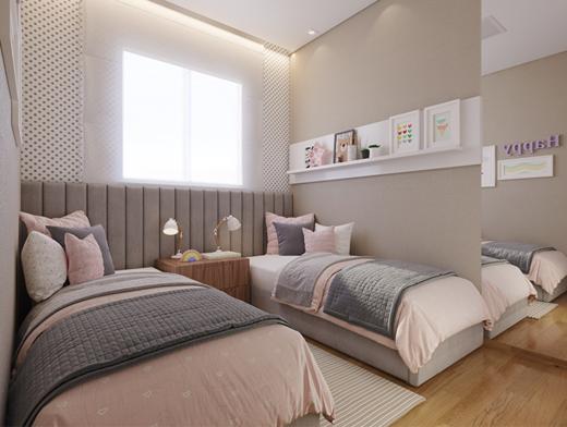 Dormitorio - Fachada - Novolar Vargem Grande - Fase 2 - 1765 - 12