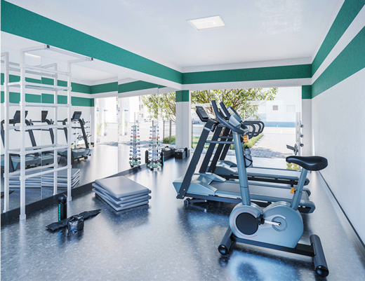 Fitness - Fachada - Novolar Vargem Grande - Fase 2 - 1765 - 15