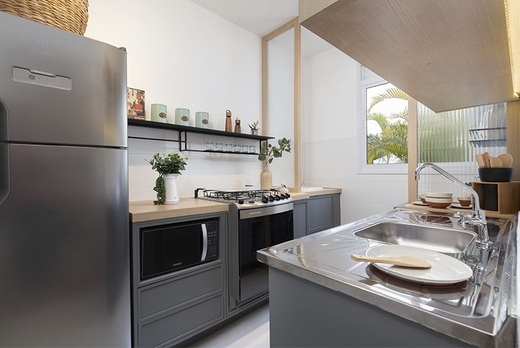 Cozinha - Fachada - Novolar Vargem Grande - Fase 2 - 1765 - 8