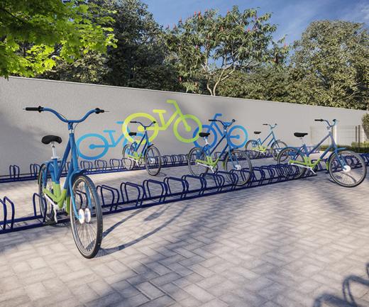 Bicicletario - Fachada - Novolar Vargem Grande - Fase 2 - 1765 - 22