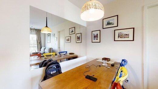 Living - Apartamento à venda Rua Professor Sousa Barros,Saúde, Zona Sul,São Paulo - R$ 480.000 - II-23201-38287 - 4