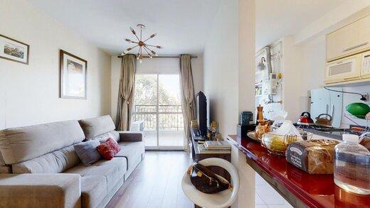 Living - Apartamento à venda Rua Professor Sousa Barros,Saúde, Zona Sul,São Paulo - R$ 480.000 - II-23201-38287 - 7