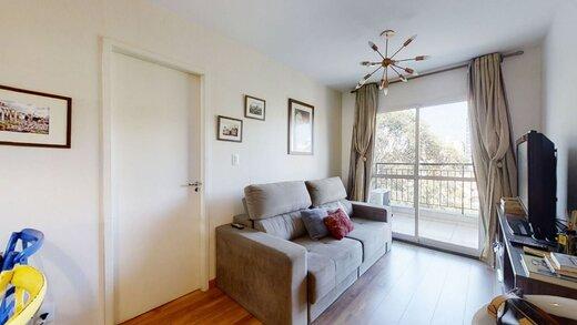 Living - Apartamento à venda Rua Professor Sousa Barros,Saúde, Zona Sul,São Paulo - R$ 480.000 - II-23201-38287 - 8