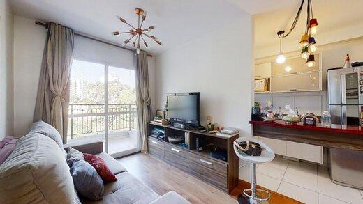Living - Apartamento à venda Rua Professor Sousa Barros,Saúde, Zona Sul,São Paulo - R$ 480.000 - II-23201-38287 - 10