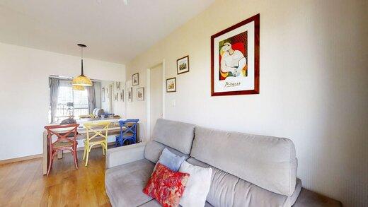 Living - Apartamento à venda Rua Professor Sousa Barros,Saúde, Zona Sul,São Paulo - R$ 480.000 - II-23201-38287 - 13
