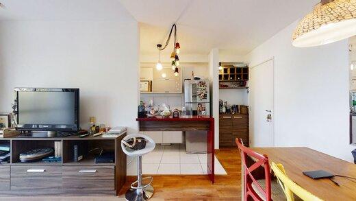 Living - Apartamento à venda Rua Professor Sousa Barros,Saúde, Zona Sul,São Paulo - R$ 480.000 - II-23201-38287 - 1