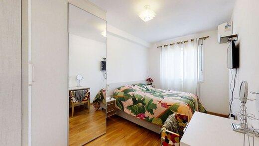 Quarto principal - Apartamento à venda Rua Professor Sousa Barros,Saúde, Zona Sul,São Paulo - R$ 480.000 - II-23201-38287 - 23