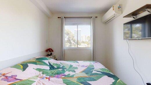 Quarto principal - Apartamento à venda Rua Professor Sousa Barros,Saúde, Zona Sul,São Paulo - R$ 480.000 - II-23201-38287 - 25