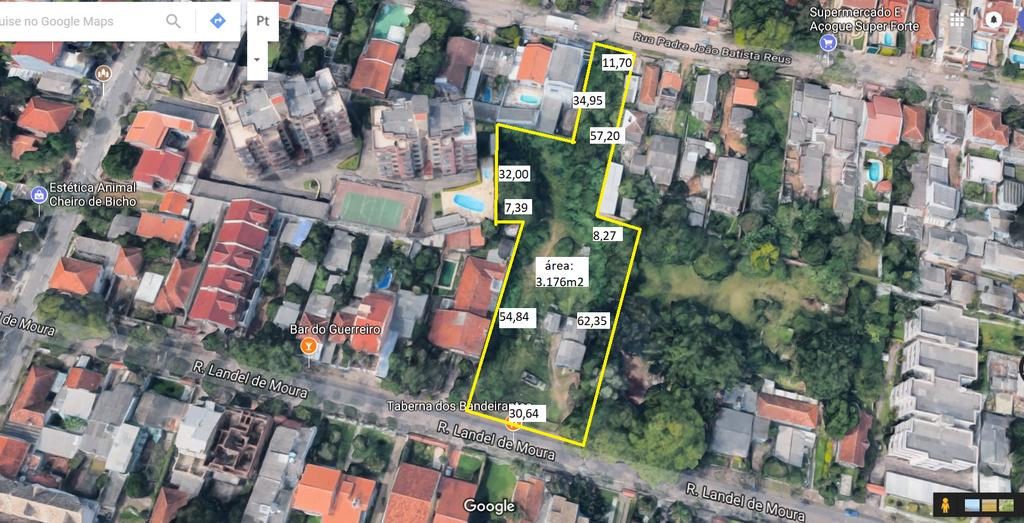 Terreno/Lote Residencial Tristeza Porto Alegre
